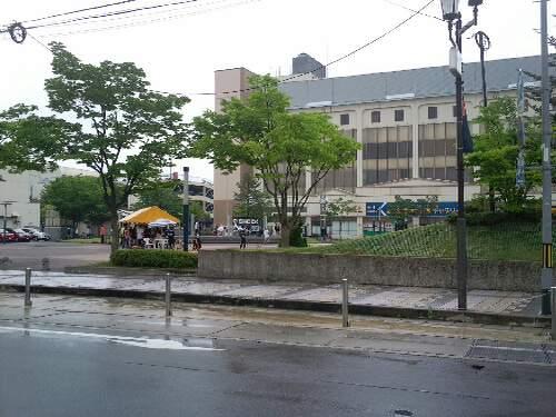米沢イベント 雨